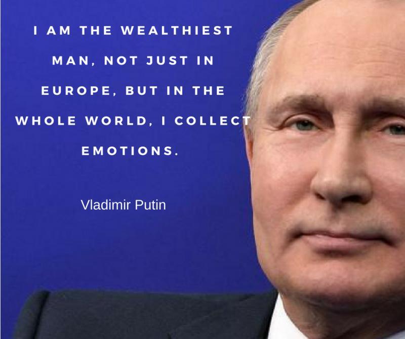 Popular Vladimir Putin Quotes