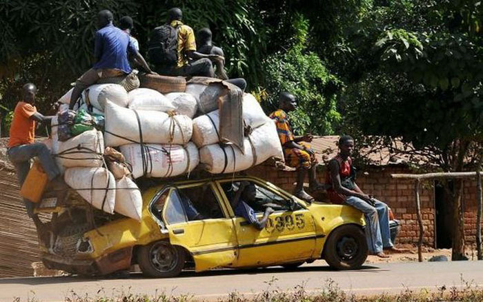 Overloaded Vehicles