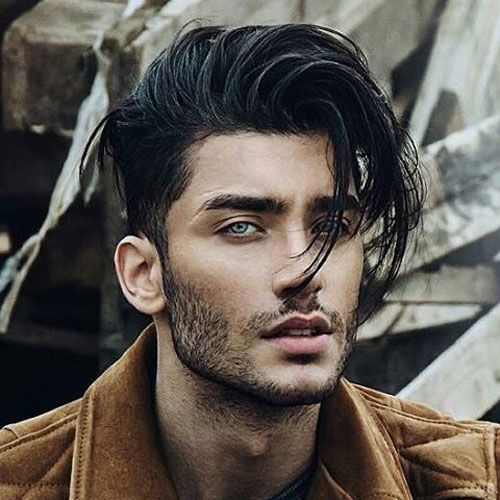 Awesome Hairstyles for Men | Messy Long Hair along with Bangs