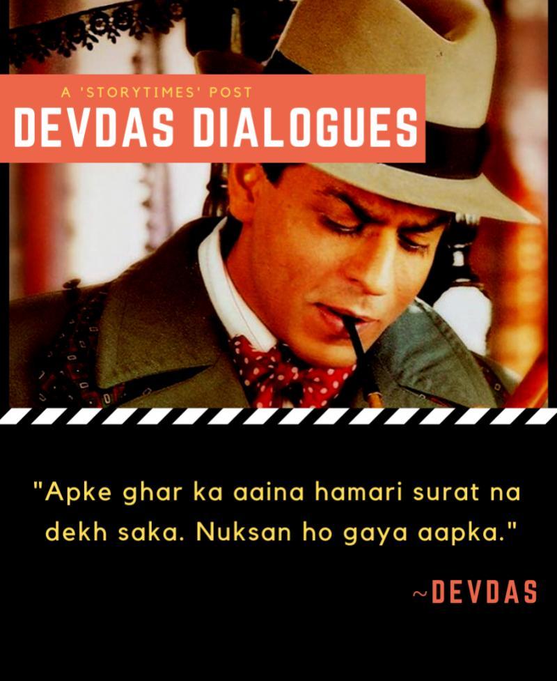 Devdas dialogues