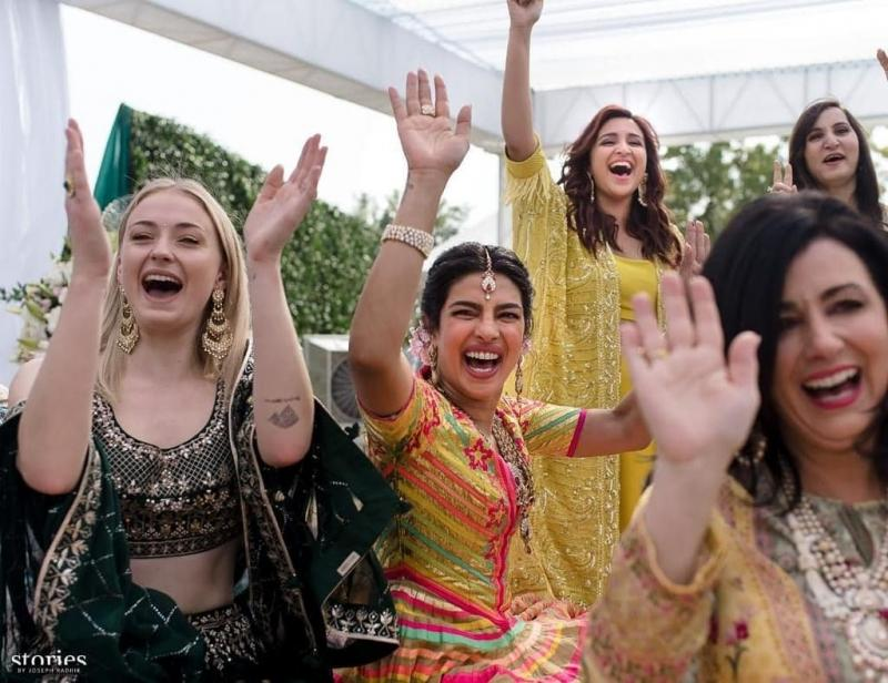 Nick and Priyanka Wedding Pics