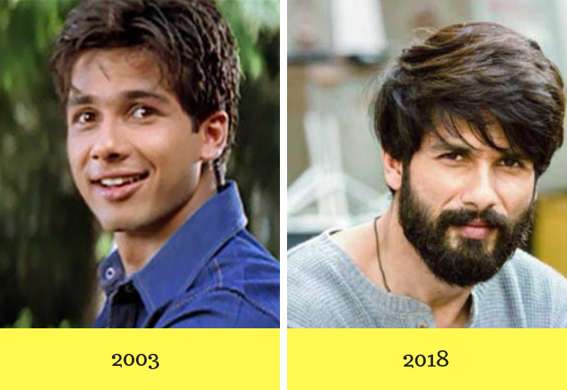 Bollywood Actors Then and Now