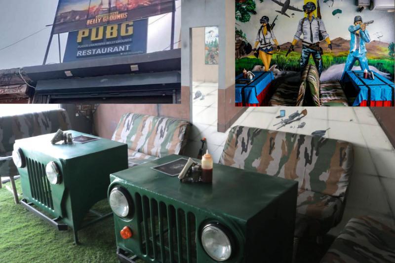 PUBG Restaurant Jaipur In Hindi