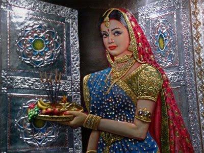 Prithviraj Chauhan and Sanyogita Love