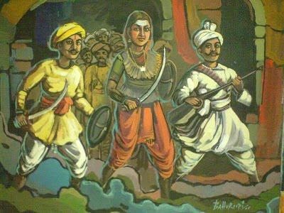 Kittur Rani Chennamma In Hindi