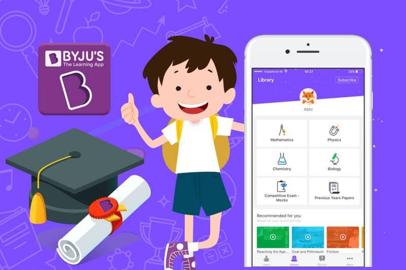 BYJU'S Educational Success in Hindi