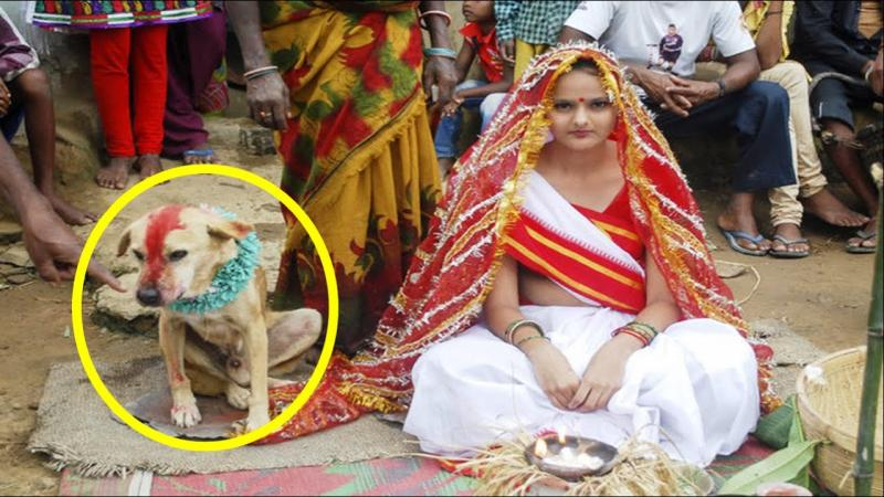 Strange Traditions of India In Hindi