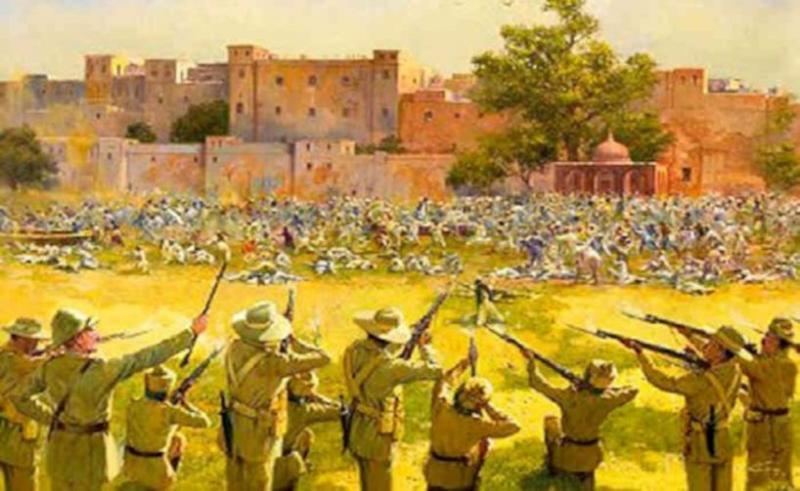 Mangarh Massacre in Hindi