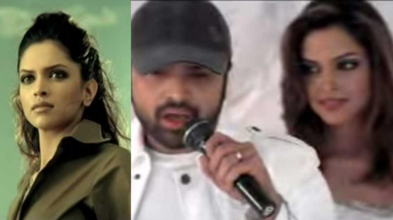 Deepika emerged in the Music Video titled Naam Hai Tera by Himesh Reshammiya.