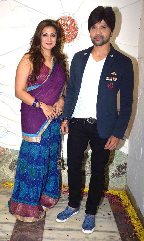 Himesh Reshmiya and Soniya Kapoor