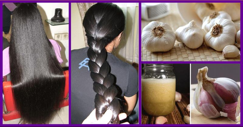 How to use Garlic for Hair growth.