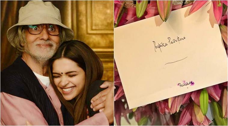 Amitabh Bachchan sent Deepika Padukone a bouquet for her Performance In Ramleela.