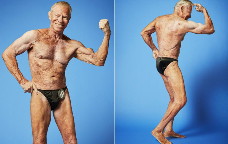 Senior Citizen Bodybuilder