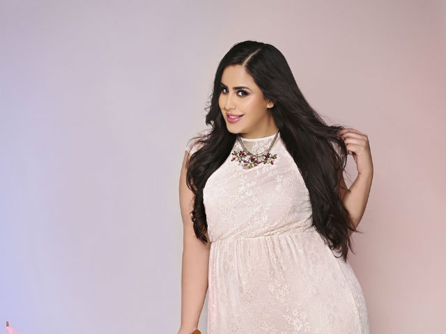 Famous Plus Size model Bishamber Das.