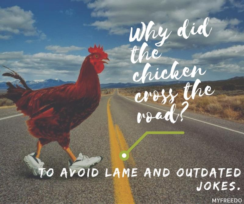 Why did the chicken cross the road reddit