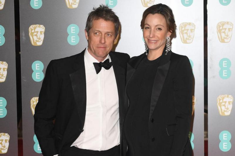 Hugh Grant marries girlfriend Anna Eberstein