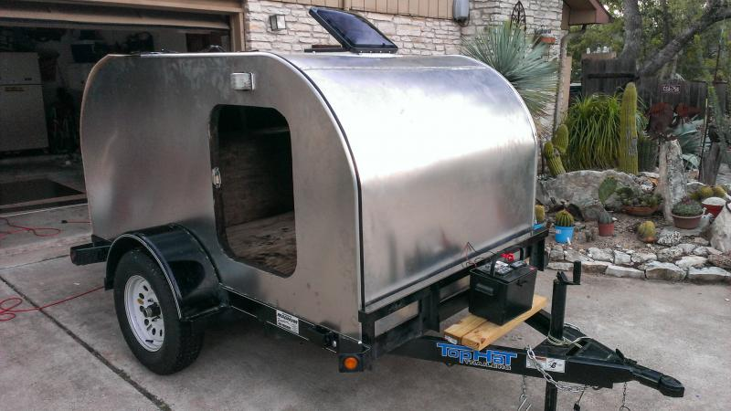 diy camper trailer