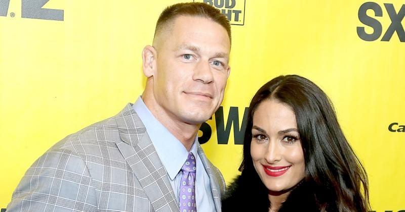 Pictures of John Cena and Nikki Bella
