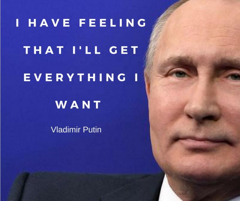 Famous Vladimir Putin Quotes