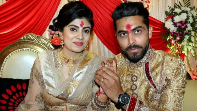 Cricketer Ravindra Jadeja's wife Reevaba was reportedly attacked by a policeman in Jamnagar following their vehicles' collision on Monday.