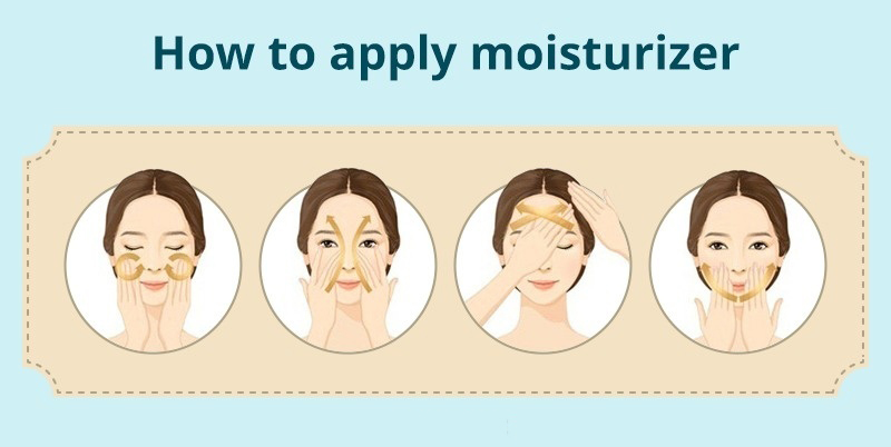 How To apply Moisturizer on face effectively