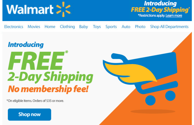 E Commerce Companies in USA   Walmart