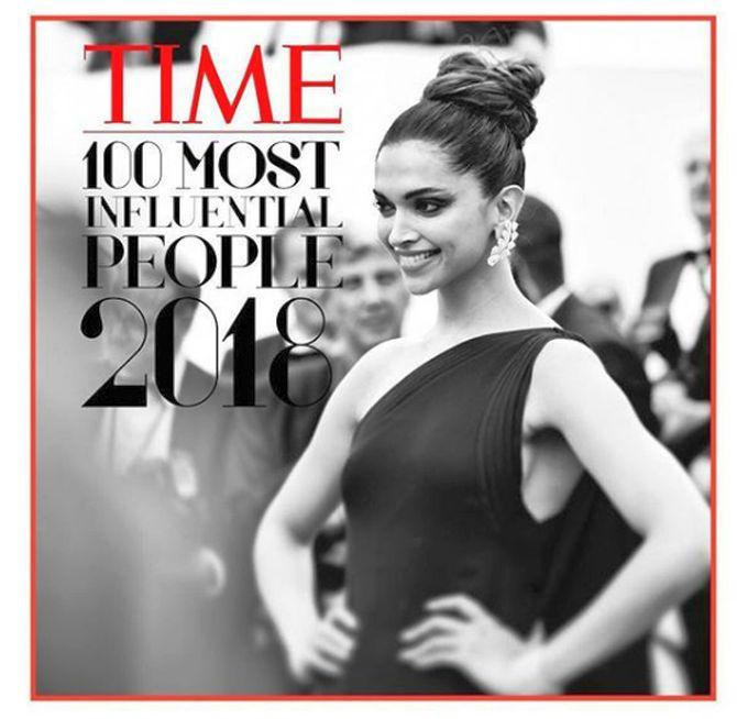 Deepika counts in India Today's 50 Most Influential people.