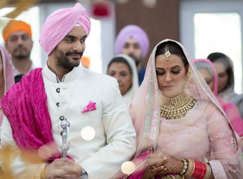 Neha Dupiya married with Tv star Angad bedi