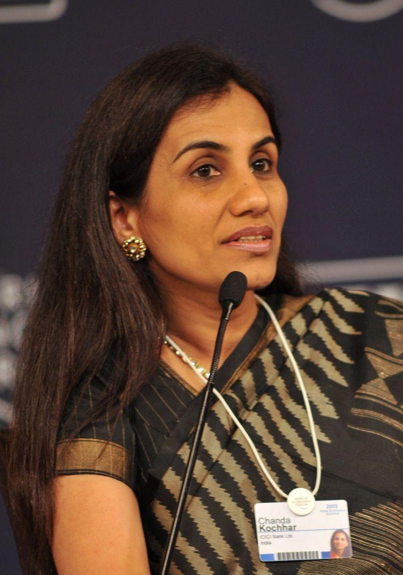 Chanda Kochhar – CEO and MD, ICICI Bank