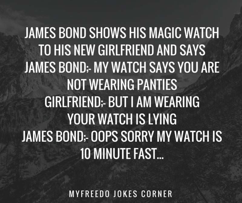 James Bond Adult Jokes