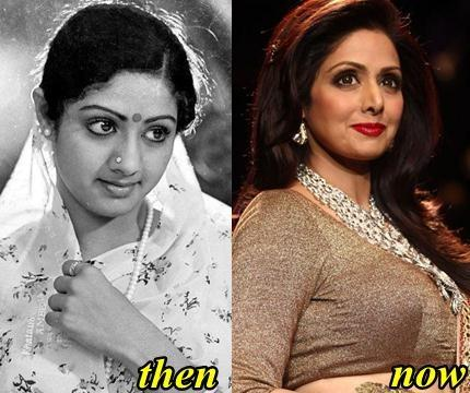 SriDevi Makeover Before and After