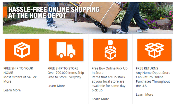 E Commerce Companies in USA   The Home Depot