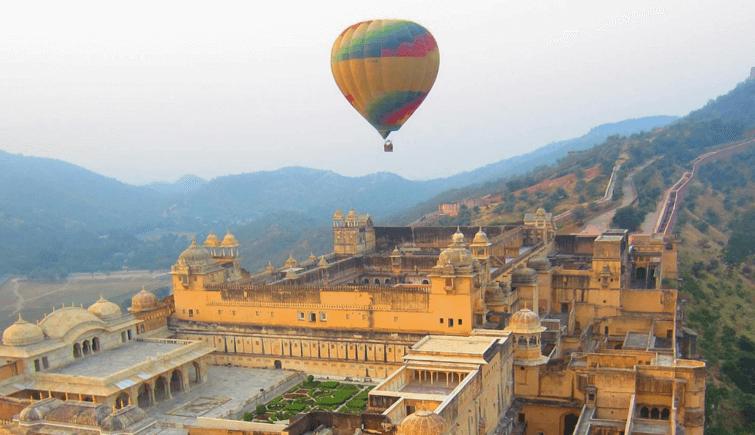 Ranthambore National Park Use Hot Air Baloon