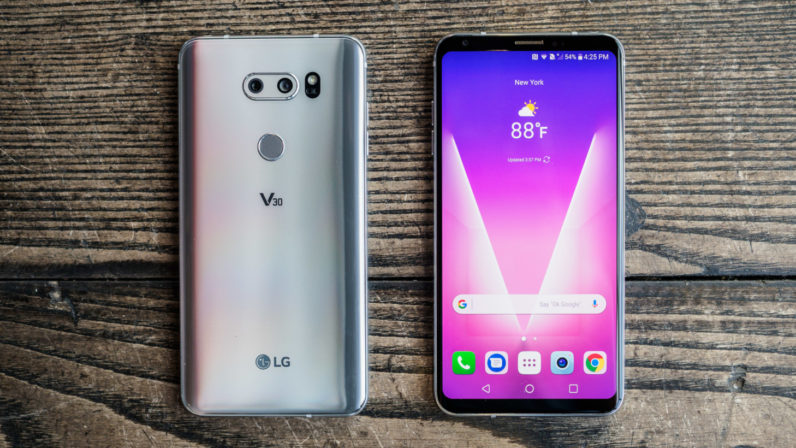 Best Gaming Phones of 2018 - LG V30