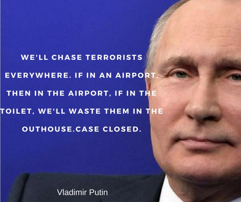Famous and Powerful Vladimir Putin Quotes