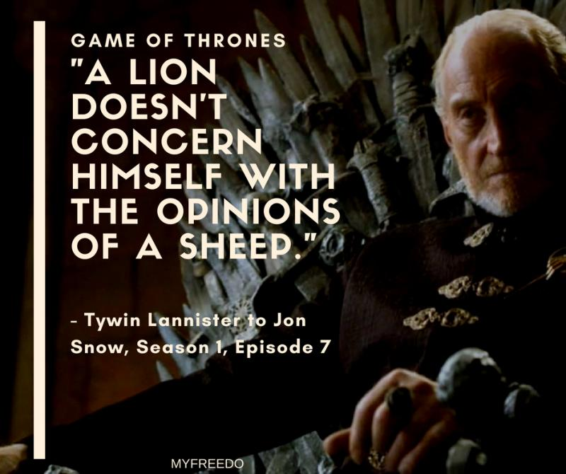 Game of Thrones Dialogues