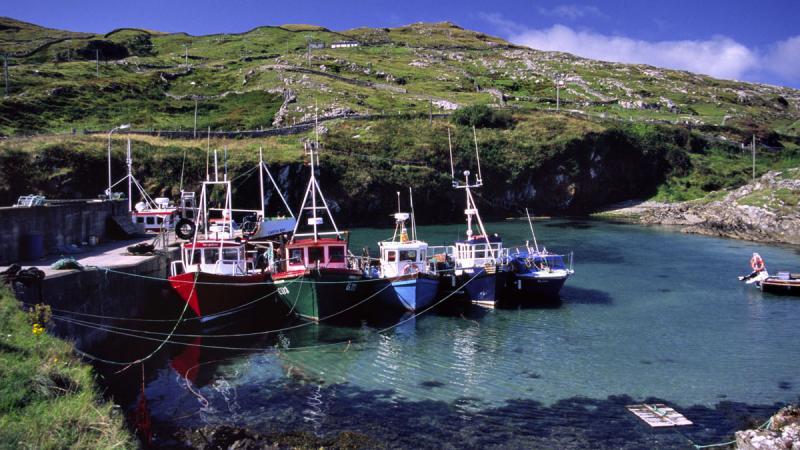 Inishturk Island, in Ireland