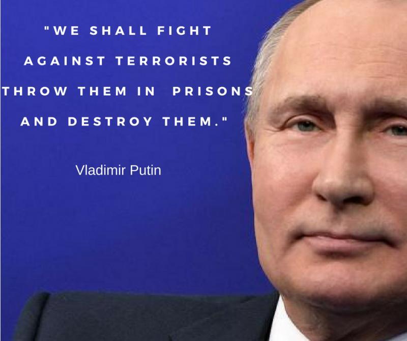 Powerful AND Popular Russian President Vladimir Putin