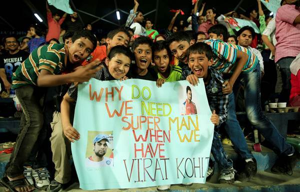 4. Virat One Man Army on the Ground.