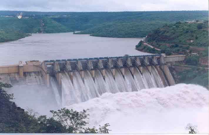 Bhakra nangal dam Largest dam in India