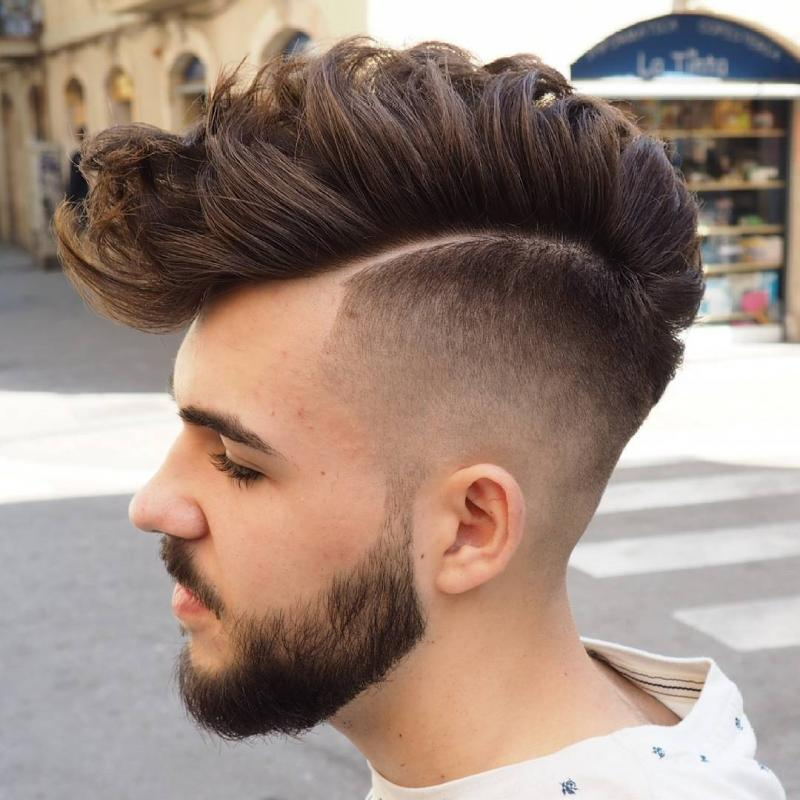 Awesome Hairstyles for Men | Faux Hawk Hair with Taper Fading