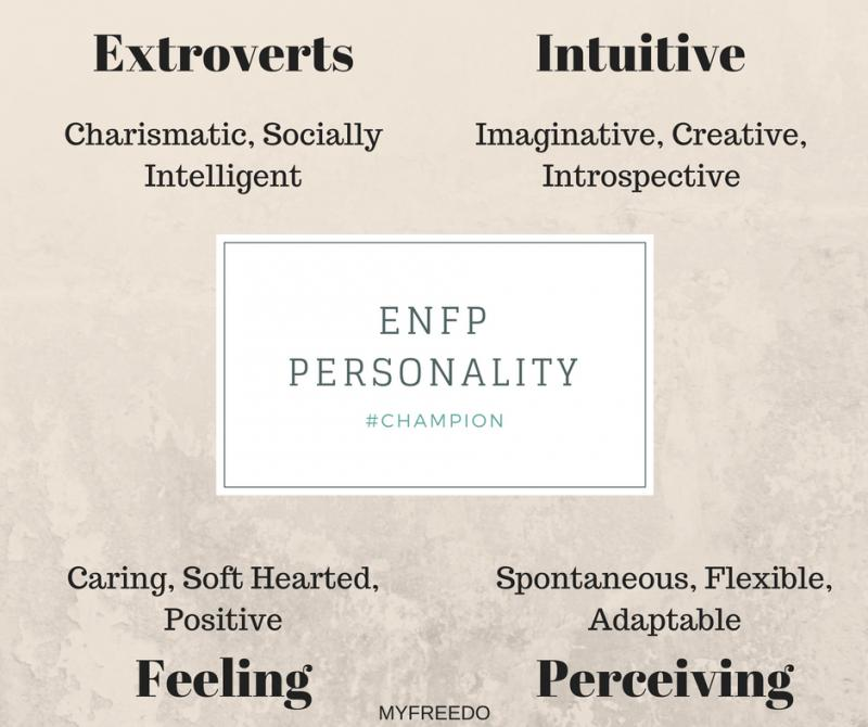 ENFP Personality - 16 Personalities
