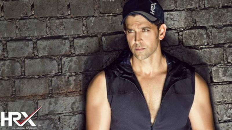 4. Hrithik Roshan's Fashion Brand - HRX