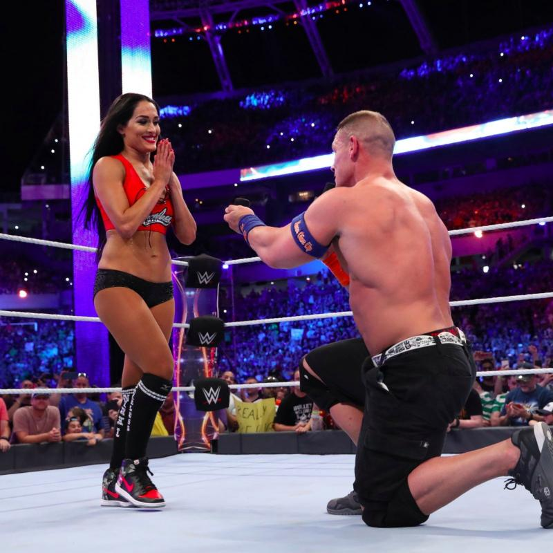 Proposed Pictures of John Cena and Nikki Bella