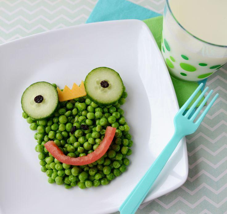 How to Make children eat vegetables.