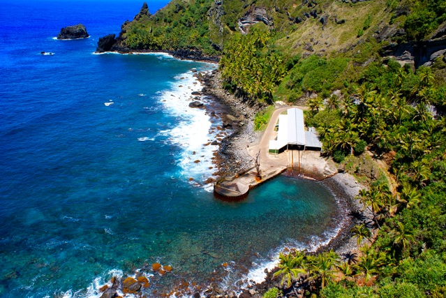 Pitcairn Island, in South Pacific
