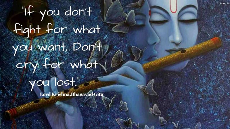 Krishna Quotes Most Powerful And Inspirational Quote Of Krishna