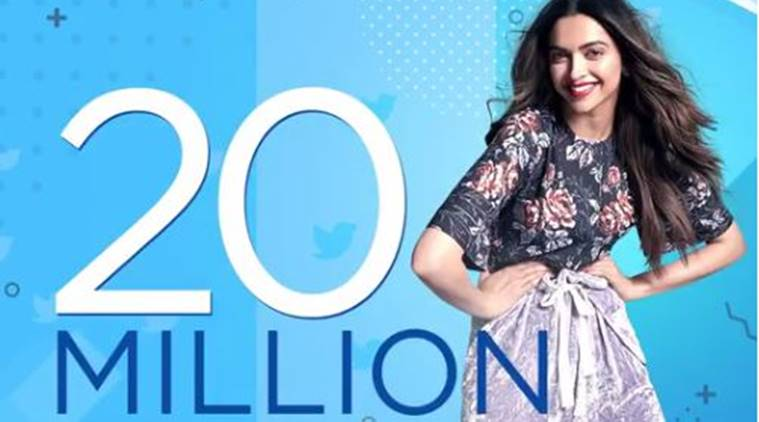 Deepika Padukone is Asia's Most followed women on the Twitter.