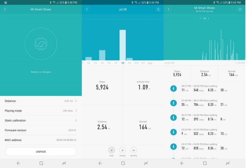 Xiaomi Mi Smart Shoes