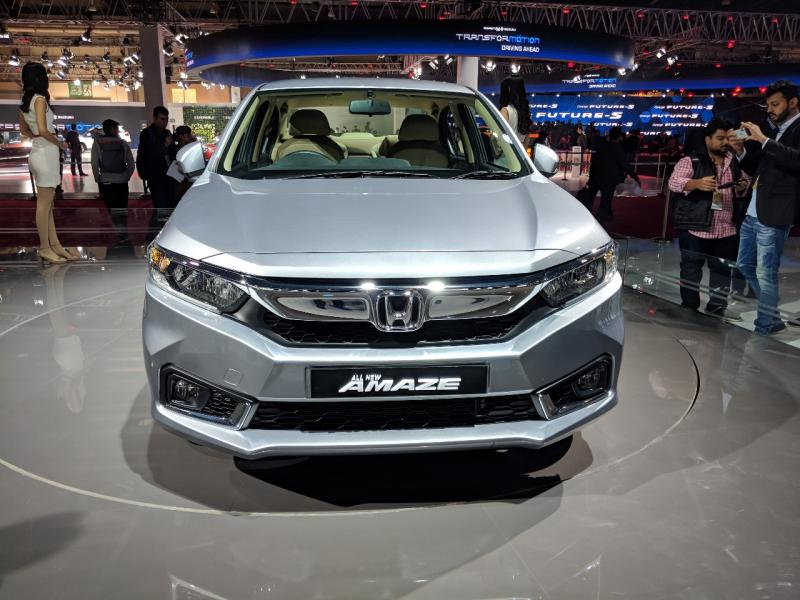 New 2018 Honda Amaze launched in India, prices start at Rs5.6 lakh